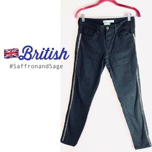British🇬🇧Zara Z1975 Denim Low Rise Skinny Jeans